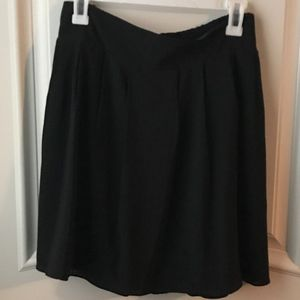 NWT A New Day Black Pleated Skirt XXL